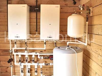 Монтаж системы отопления коттеджа